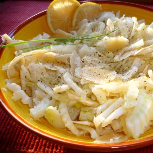 Foto Ricetta Insalata estiva di finocchio al profumo di limone