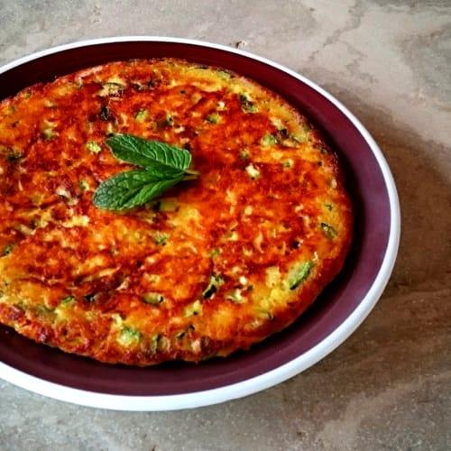 Foto Ricetta Frittata di zucchine