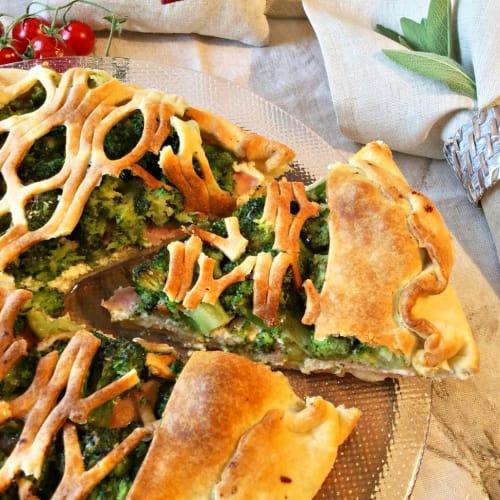 Foto Ricetta Torta salata di pasta brisée
