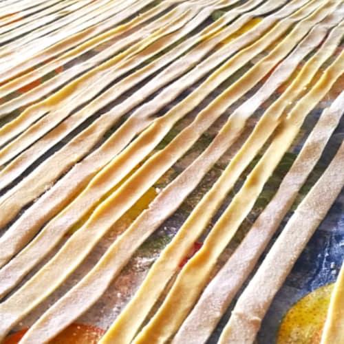 Foto ricetta passaggio fresh egg-free pasta