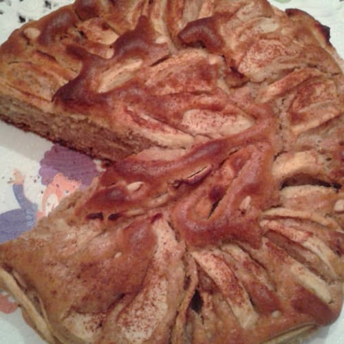 Foto Ricetta Torta di mele integrale e senza zucchero