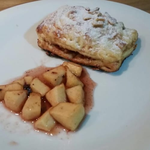 Foto Ricetta Fagottini alle mele e marmellata