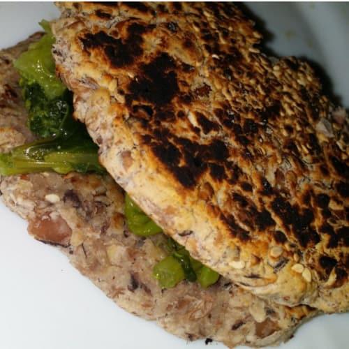 Foto Ricetta Burger di fagioli senza glutine