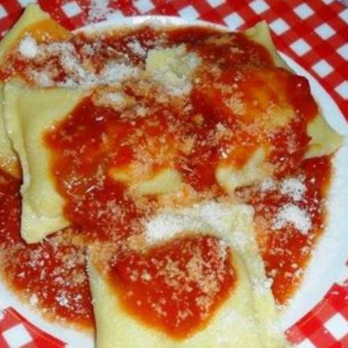 Foto Ricetta Fazzoletti di pasta fresca