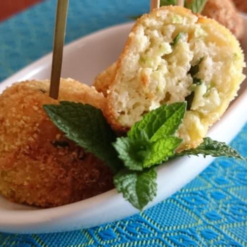 Foto Ricetta Polpettine di ricotta e zucchine