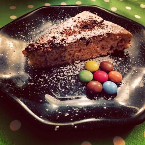Foto Ricetta Ciambella yogurt e scaglie di cioccolato
