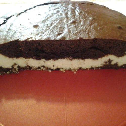 Foto Ricetta Torta al cioccolato e cocco