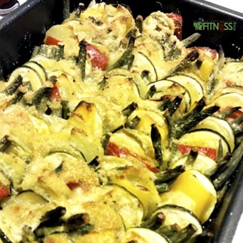 Foto Ricetta Verdure al forno sabbiate