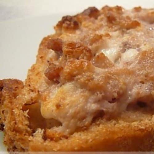 Foto Ricetta Crostini salsiccia e stracchino
