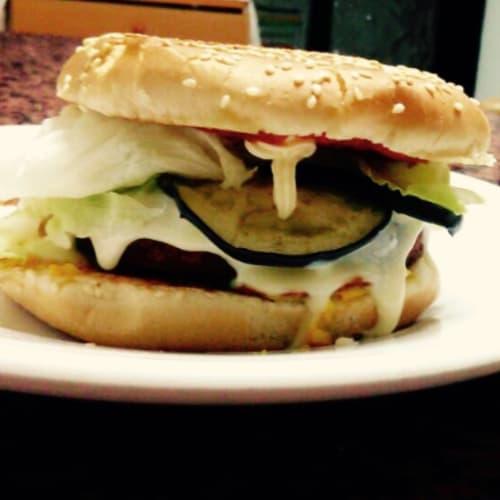Foto Ricetta Bb: berenjena burger