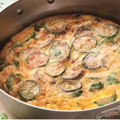 Foto Ricetta Frittata di zucchine con galbanino
