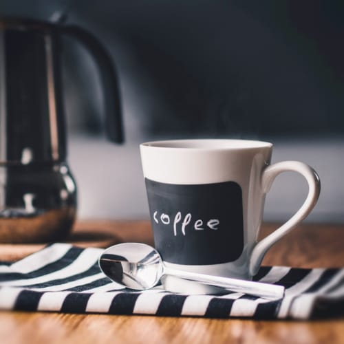 Foto Ricetta Colazione caffè e fette biscottate