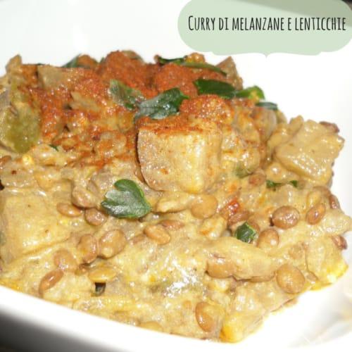 Foto Ricetta Curry di melanzane e lenticchie