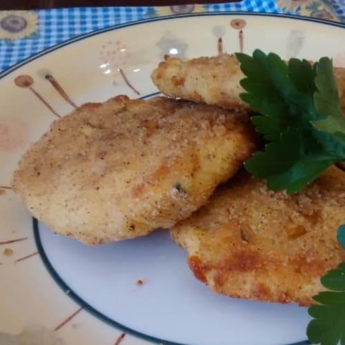 Foto Ricetta Medaglioni di patate e scamorza affumicata