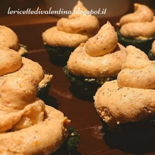 Foto Ricetta Pasticceria salata: cupcakes salati vegani