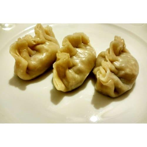 Foto Ricetta Jiaozi alle verdure, ravioli cinesi al vapore
