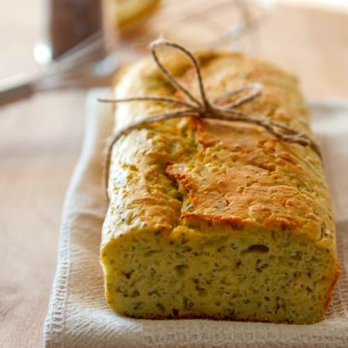 Foto Ricetta Plumcake con zucchine e semi di chia