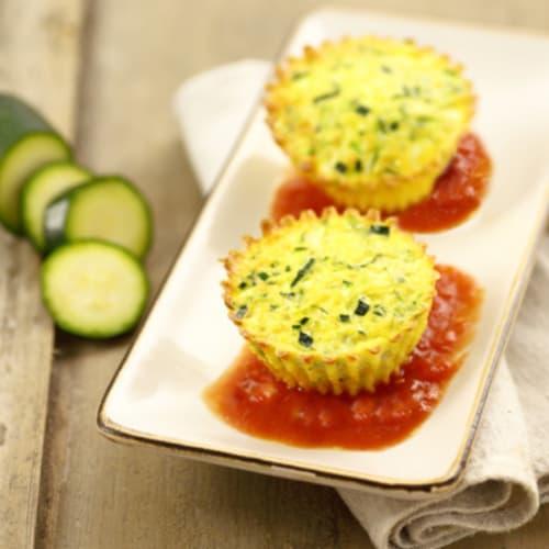 Foto Ricetta Sformatini di zucchine