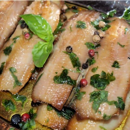 Foto Ricetta Filetti di aringa in marinata veloce