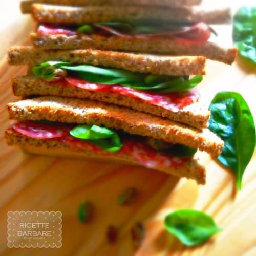 Foto Ricetta Tramezzini al salame