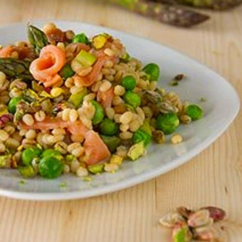 Foto Ricetta Orzo freddo ai pistacchi