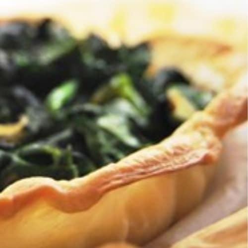 Foto Ricetta Sfoglia leggera con ricotta spinaci e uvetta
