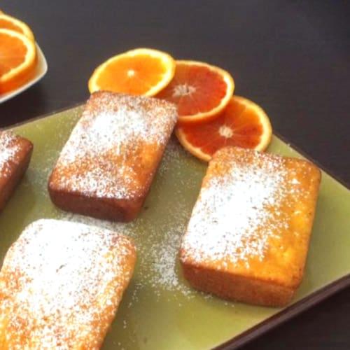 Foto Ricetta Mini plumcake con carote e arance