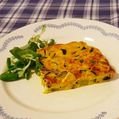 Foto Ricetta Frittata di zucchine al forno
