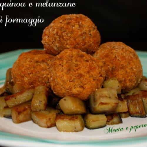 Foto Ricetta Polpettine di melanzane e quinoa
