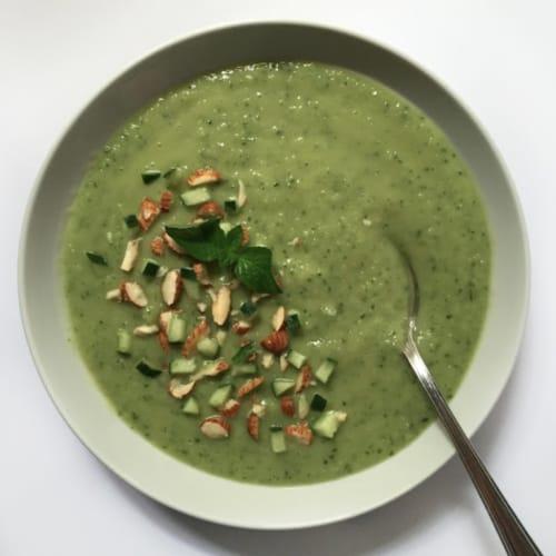 Foto Ricetta Gazpacho al cetriolo e avocado