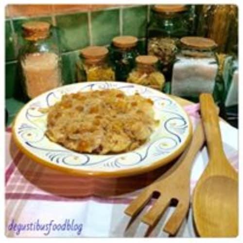 Foto Ricetta Finocchi al gratin con cipolle rosse e montasio dop