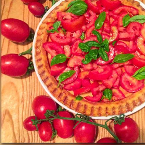 Foto Ricetta Torta rustica di patate con pomodori
