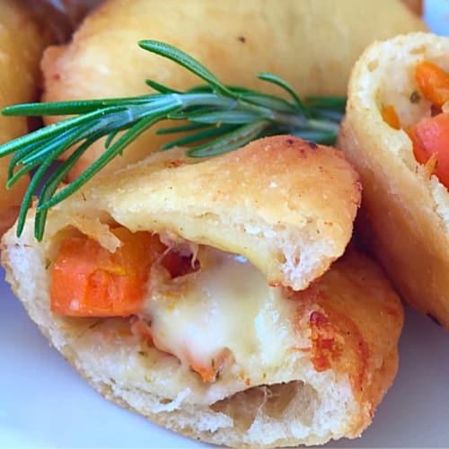 Foto Ricetta Mini calzoni con carote