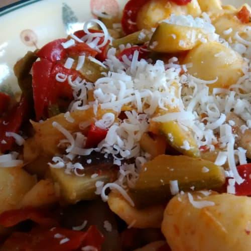 Foto Ricetta Pasta all'ortolana