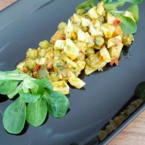 Foto Ricetta Allegria di patate in insalata