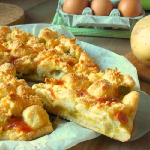 Foto Ricetta Gateau di patate zucchine e mozzarella