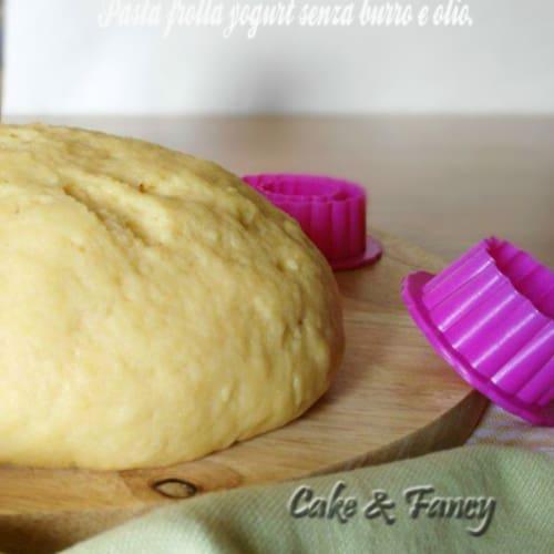 Foto Ricetta Pasta frolla yogurt senza burro e olio