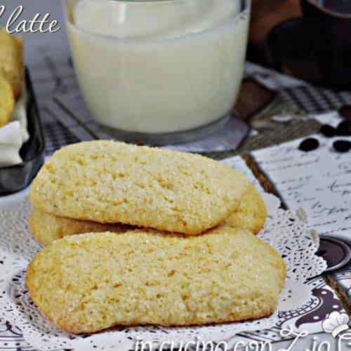 Foto Ricetta Biscotti al latte senza burro