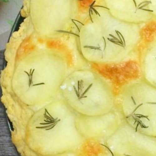 Foto Ricetta Speedy focaccia con patate e mozzarella