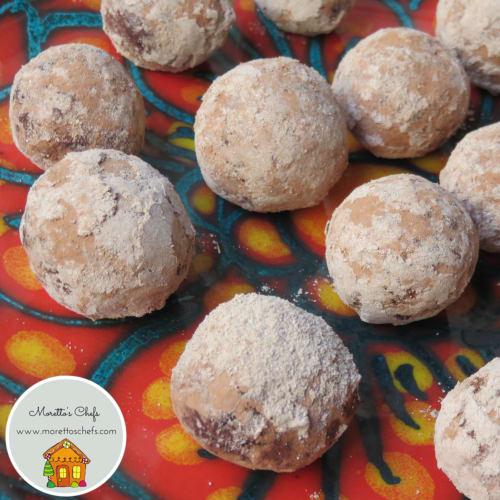 Foto Ricetta Tartufini al cacao e nocciole