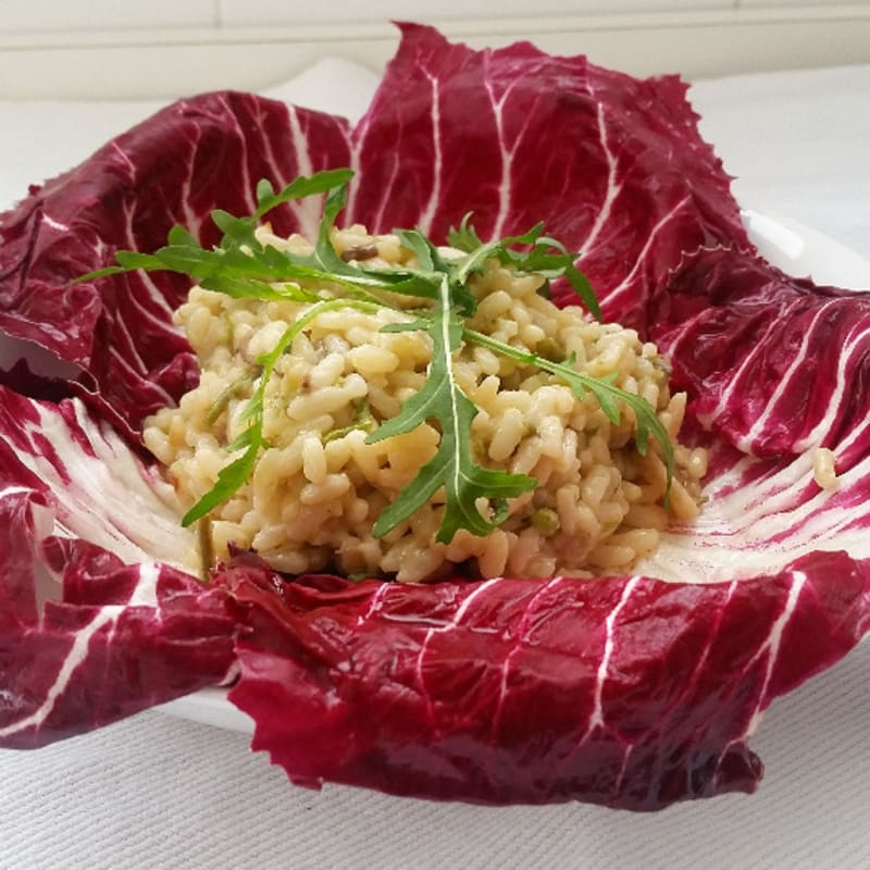 Foto Ricetta Risotto with asparagus and mushrooms