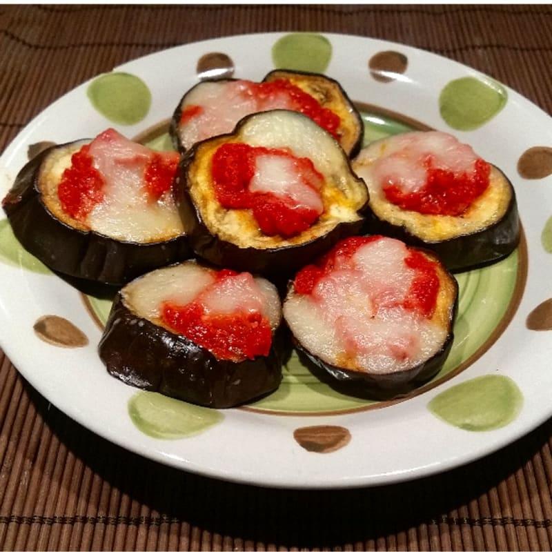 Foto Ricetta Pizzette di melanzane