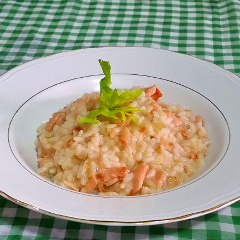 Foto Ricetta Risotto al salmone