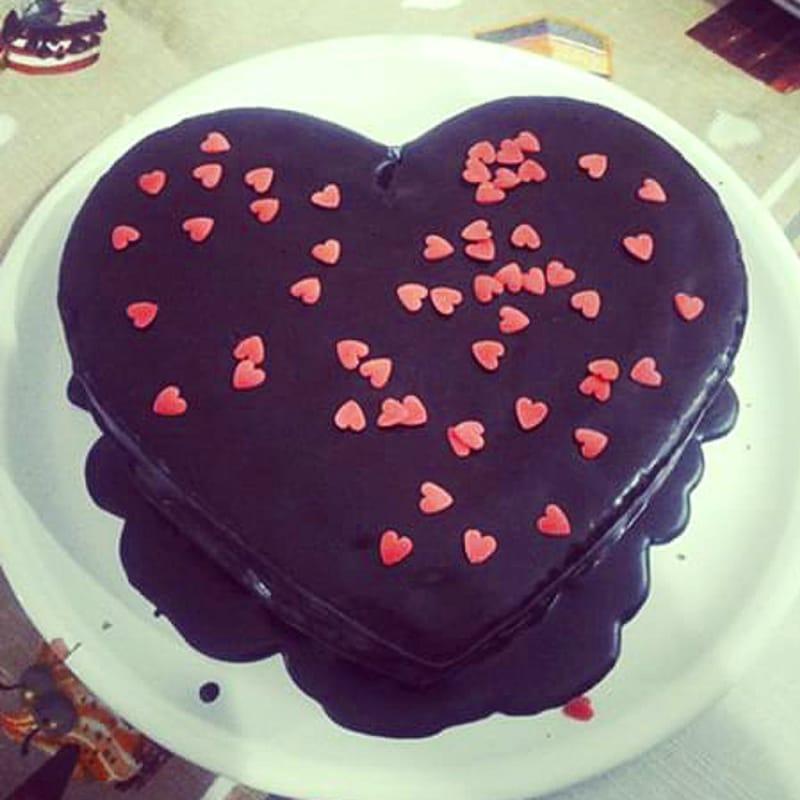 Foto Ricetta Cuore di cioccolato
