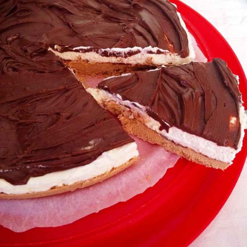 Foto Ricetta Mascarpone cheesecake and nutella