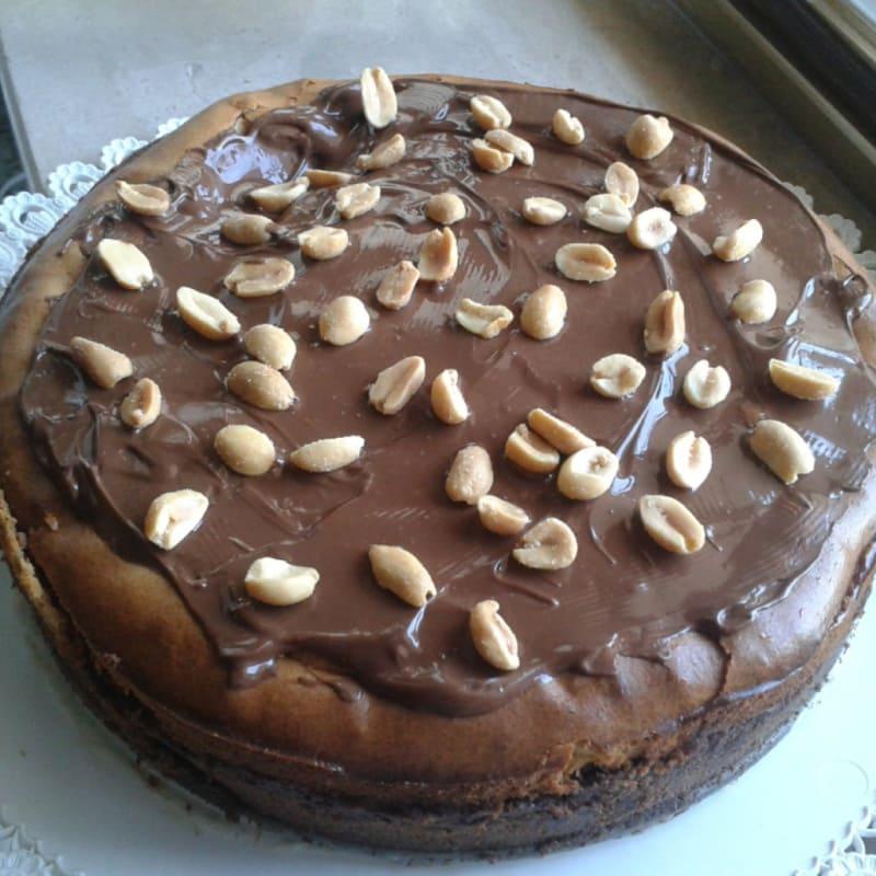 Foto Ricetta Cheesecake al burro di arachidi