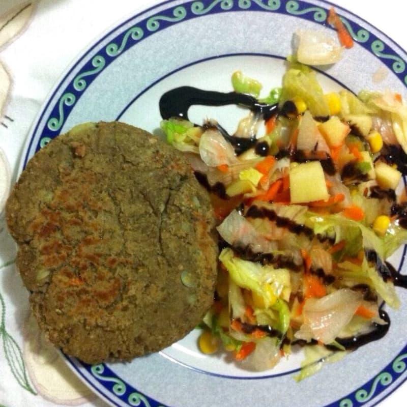 Foto Ricetta Burger di lenticchie