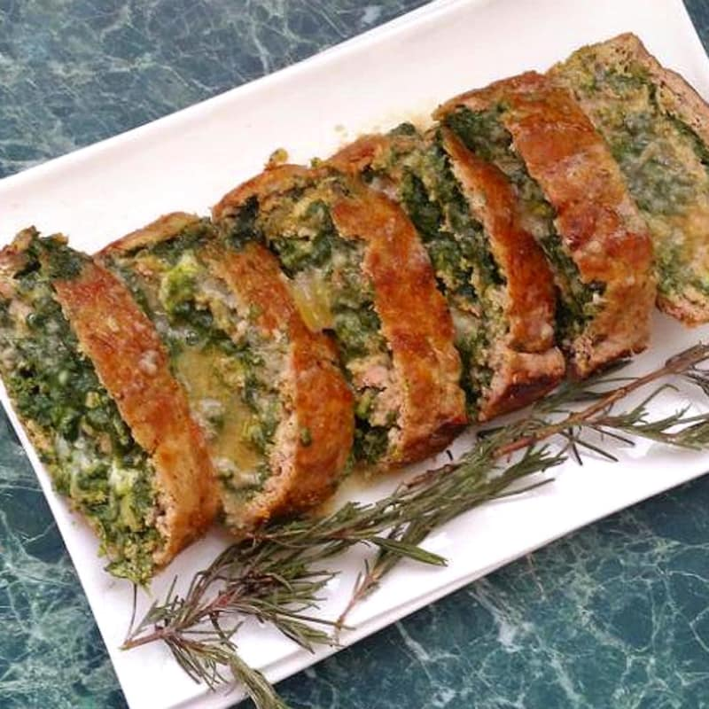 Foto Ricetta Stuffed Roasted meat and spinach