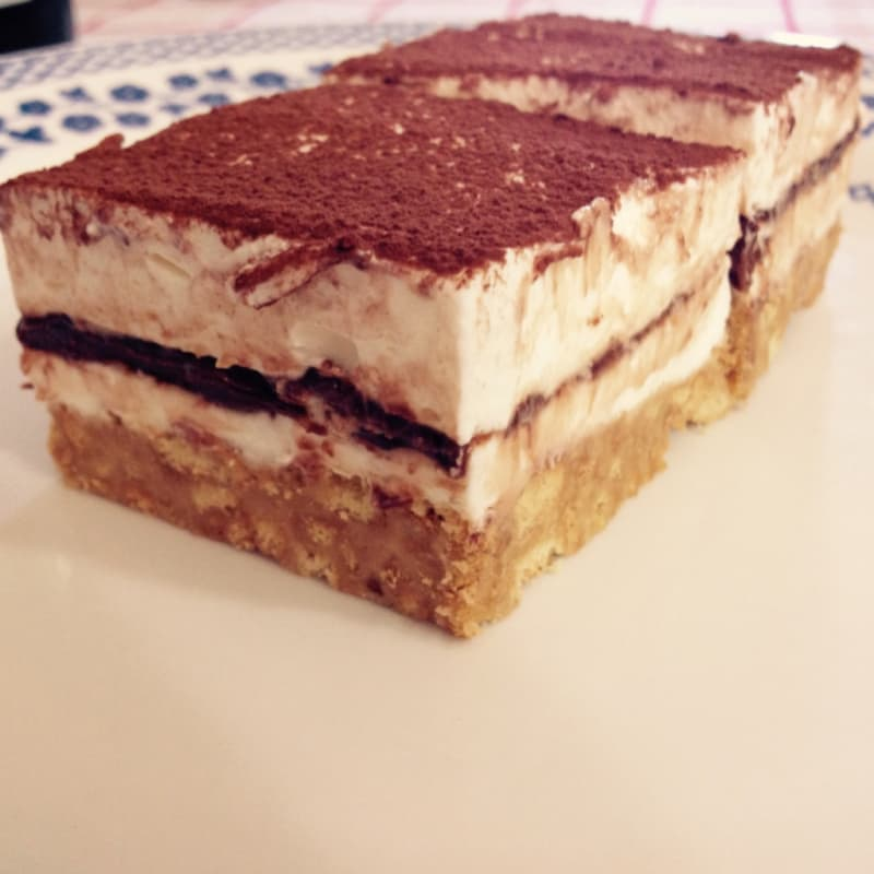 Foto Ricetta Cheesecake alla nutella