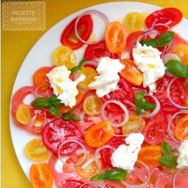 Foto Ricetta Carpaccio di pomodori